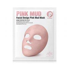 [쏘내추럴] 페이셜 디자인 핑크 머드 마스크