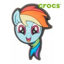 [크록스정품] 크록스 지비츠 /CG- 10007250 / My Little Pony Rainbow Dash