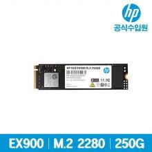EX900 M.2 SSD 250GB 국내정품 3D NAND TLC/NVMe