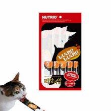 고양이간식 참치 연어맛 고양이 츄르(10gX5p)_425BED
