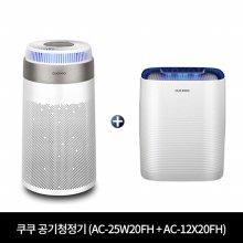 공기청정기 패키지 (AC-25W20FH + AC-12X20FH) [84.7m² + 37.4m²]