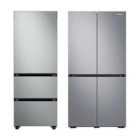 비스포크 김치냉장고[313L] + 비스포크 4도어 냉장고[871L] 패키지