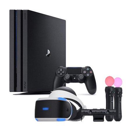 PS4 Pro 1TB [ 제트블랙 ] & PS4 PlayStation VR MK4