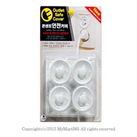 우일 콘센트 안전커버 뚜껑 덮개 막기 아기안전_40434A