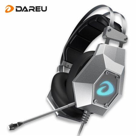 EH755 USB 7.1 Hi-Fi 진동 게이밍 헤드셋 건메탈