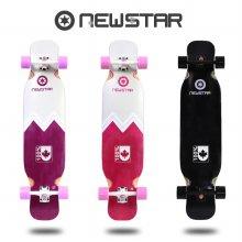 뉴스타 롱보드 42 입문형 컴플릿 스케이트보드