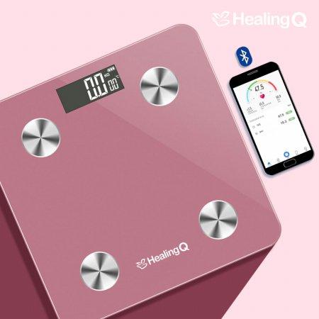 스마트 체중계/체지방계/스마트폰연동 HQ-S4000 (핑크)