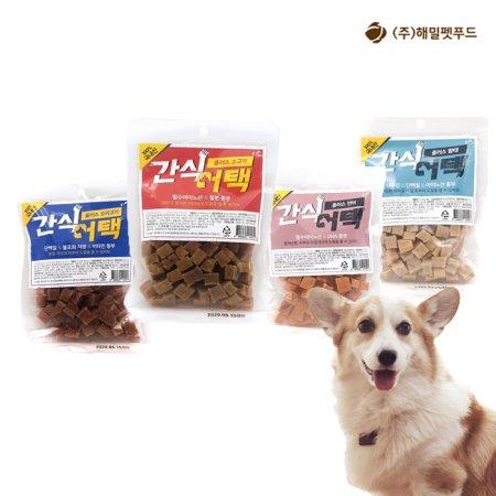 강아지간식 간식어택 소고기맛 100g 1팩