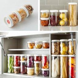 [무료배송]냉장고 문짝정리용기 인터락_5종1택(좁은형/중간형/넓은형)