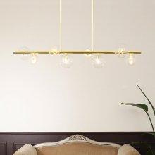 LED 식탁등 버블롤 8등 골드 펜던트 40W 전구포함 카페 매장조명