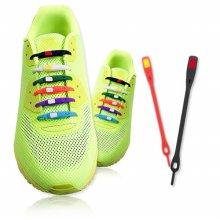 아이디어 실리콘 신발끈 V-TIE