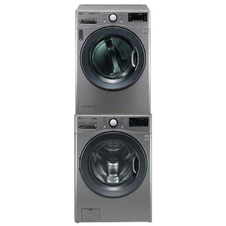RH16VN+F21VDT [16KG 건조기 + 21KG 드럼세탁기 / 스태킹키트포함 / 실버]