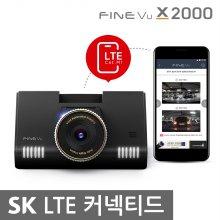 파인뷰 X2000 커넥티드 SK QHD 2채널블랙박스 32GB