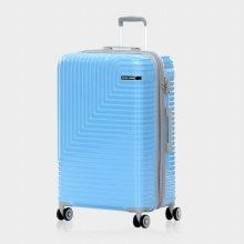 미치코런던 쿠키 확장형 블루 28 캐리어 여행가방
