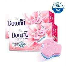 [L.POINT 1천원 증정]프리미엄 세탁세제 폼형 24개입x2개 핑크[D138*2]