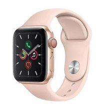 [즉시발송] 애플워치5 GPS+셀룰러 40mm [골드 알루미늄 케이스 / 핑크 샌드 스포츠 밴드] MWX22KH/A
