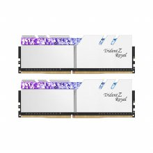 DDR4 32G PC4-25600 CL14 Trident Z ROYAL RGB 실버 (16Gx2)