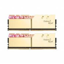 DDR4 32G PC4-25600 CL16 Trident Z ROYAL RGB 골드 (16Gx2)