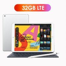 [키보드+애플펜슬 패키지] iPad 7세대 10.2 LTE 32GB 실버 MW6C2KH/A
