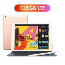 [키보드+애플펜슬 패키지] iPad 7세대 10.2 LTE 128GB 골드 MW6G2KH/A