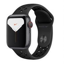 [사전예약] 애플워치5 GPS+셀룰러 44mm [스페이스 그레이 알루미늄 케이스, 안트라사이트 / 블랙 Nike 스포츠 밴드] MX3F2KH/A