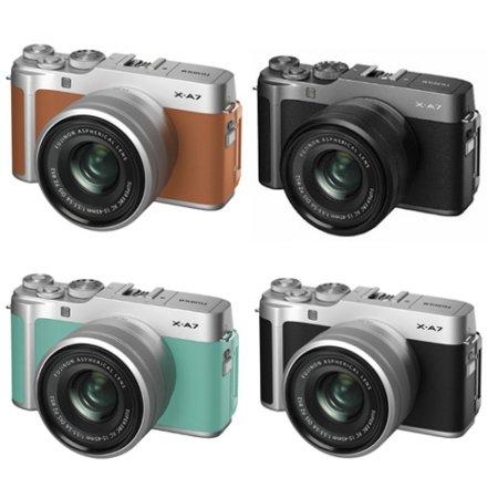 후지 X-A7 미러리스 카메라 렌즈KIT[본체+15-45mm]