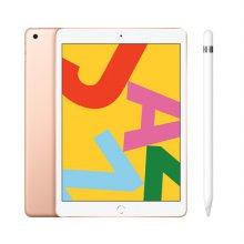[패키지특가] 필름증정) iPad 7세대 10.2 WIFI 32GB 골드 MW762KH/A  + 1세대 애플펜슬
