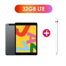 [패키지특가] iPad 7세대 10.2 LTE 32GB 스페이스 그레이 MW6A2KH/A + 1세대 애플펜슬