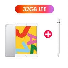 [패키지특가] iPad 7세대 10.2 LTE 32GB 실버 MW6C2KH/A + 1세대 애플펜슬