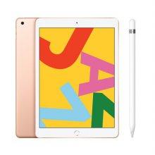 [패키지특가] iPad 7세대 10.2 LTE 32GB 골드 MW6D2KH/A + 1세대 애플펜슬