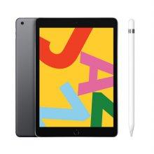 [패키지특가] 필름증정) iPad 7세대 10.2 LTE 128GB 스페이스 그레이 MW6E2KH/A + 1세대 애플펜슬