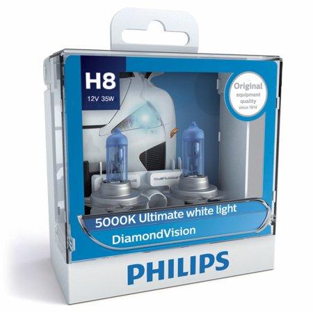 필립스 다이아몬드비전 5000k(화이트색)_H8