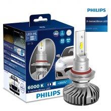 필립스 익스트림울티논 LED 전조등 HB3 / HB4 +200% 더 밝게
