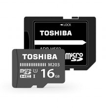 Micro SDXC CLASS10 UHS-I M203 100MB/s 16GB