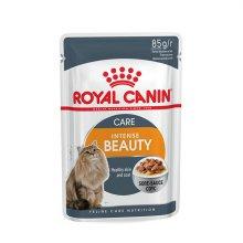 로얄캐닌 그레이비 고양이 인텐스 뷰티 파우치 85g