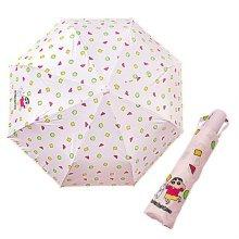 캐릭터 완전 자동 우산 핑크 휴대용 우산 미니우산_49A471