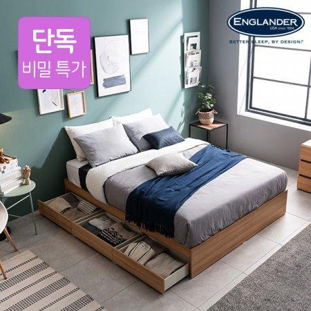 [비밀특가]보노 3단 침대(NEW E호텔 양모라텍스 7존독립매트Q)