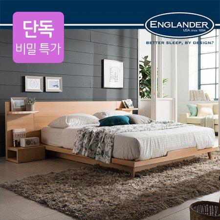 [비밀특가]스미스 평상형 침대(NEW E호텔 양모 7존 독립매트SS