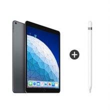 [패키지] iPad Air 3세대 10.5 LTE 256GB 스페이스 그레이 MV0N2KH/A + 애플팬슬 1세대