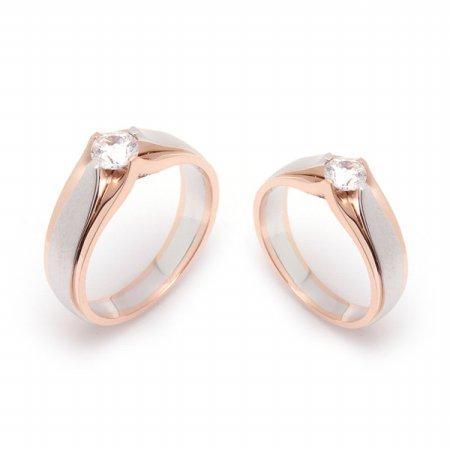 18K GOLD 커플링 결혼예물 금커플링,금반지 RFS2558