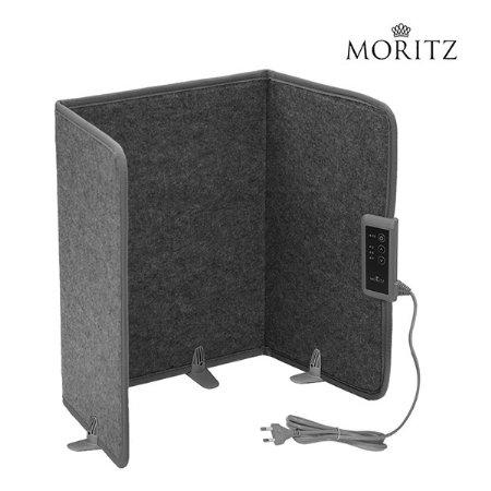 파티션 히터 MO-D5204SGM [3단계 온도조절 / 3단 접이식 히터 / 3시간 타이머]