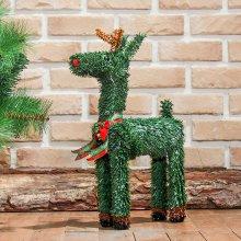 매장장식용 루돌프사슴(40cm) 크리스마스 장식 사슴_4E3132