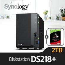 [에이블] DS218+ [시게이트 아이언울프 2TBx1]/NAS전용HDD