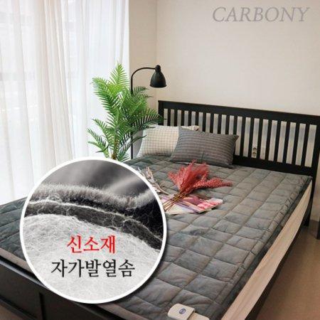 [특가상품]숯발열선 자가발열 더 웜 탄소온열매트 (1인용)