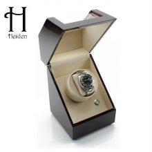 프리미어 싱글 와치와인더 HD009-Cherry 1구 명품 시계보관함