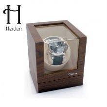 엘리트 싱글 와치와인더 VR001-Walnut 명품 시계보관함 하이덴