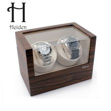 엘리트 더블 와치와인더 VR002-Walnut 명품 시계보관함 하이덴