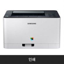 삼성 블랙/컬러 레이저 프린터[SL-C510W][토너포함/18ppm]