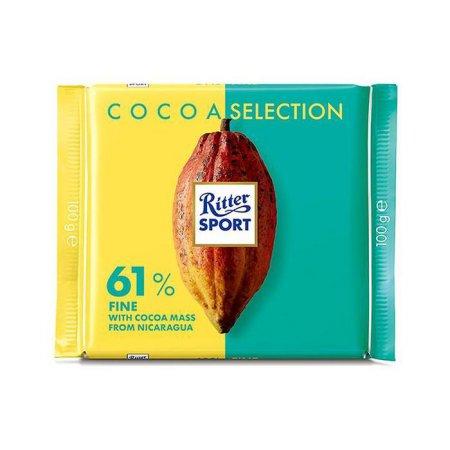 [리터] 카카오 셀렉션 61% 초콜릿 100g
