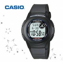 F-200W-1A 남성 디지털 손목 시계